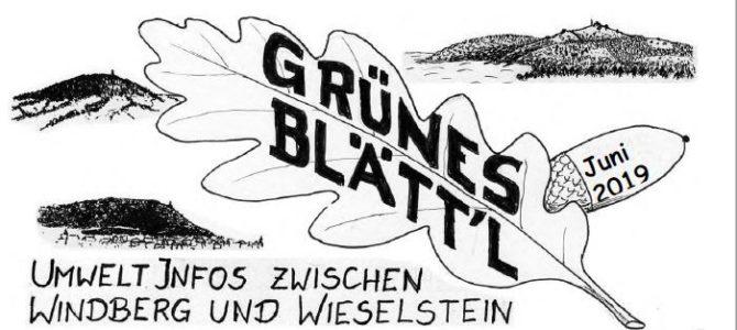 Grünes Blätt'l 06/2019