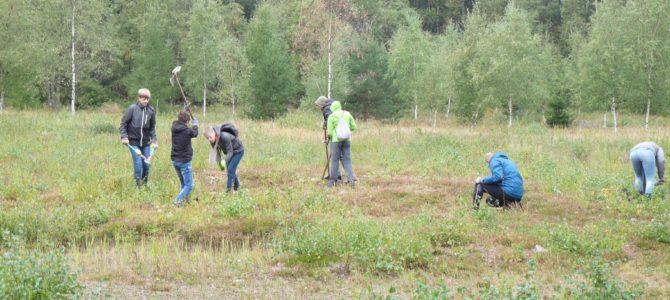 Schülercamps der Deutschen Umwelthilfe in Altenberg