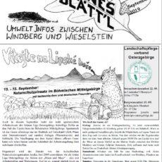 Grünes Blätt'l 09/2019