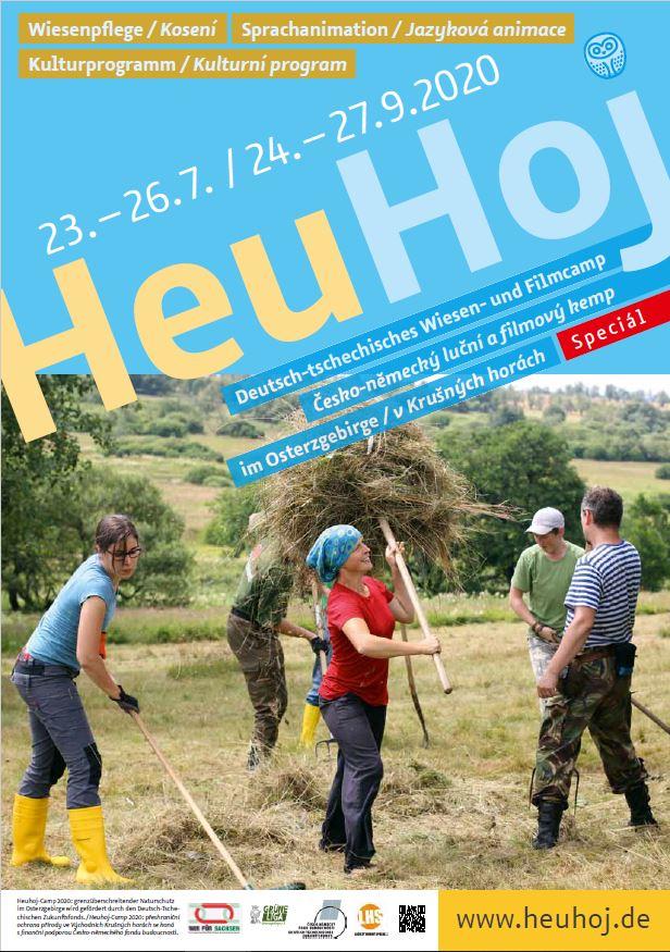 HeuHoj-Camp-Speciál – Einladung zum ersten Wochenende vom 23. bis 26. Juli 2020