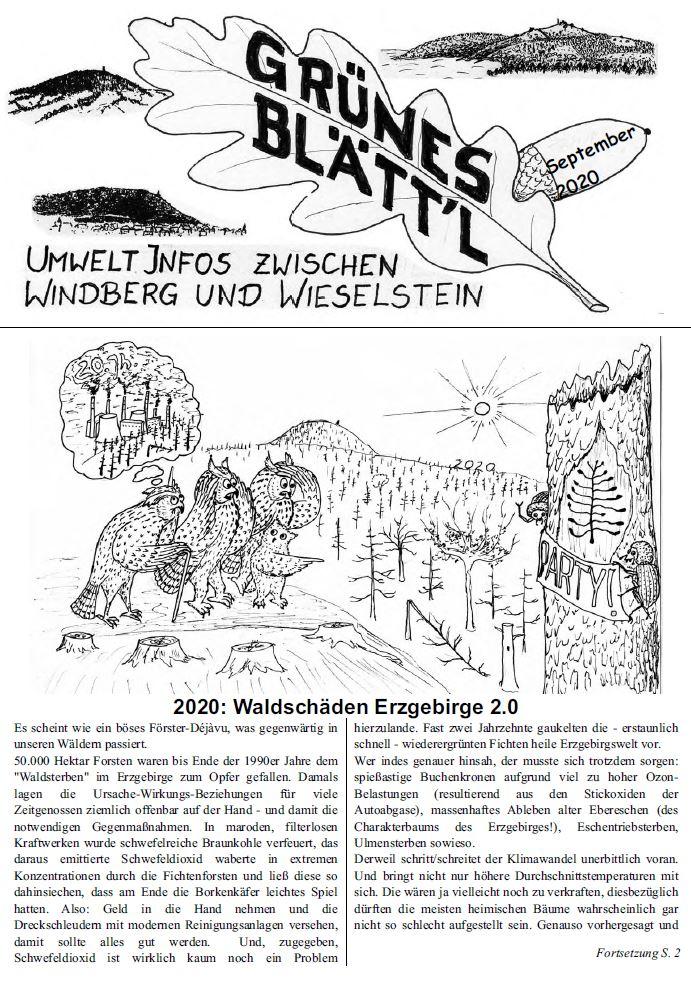 Grünes Blätt'l 09/2020
