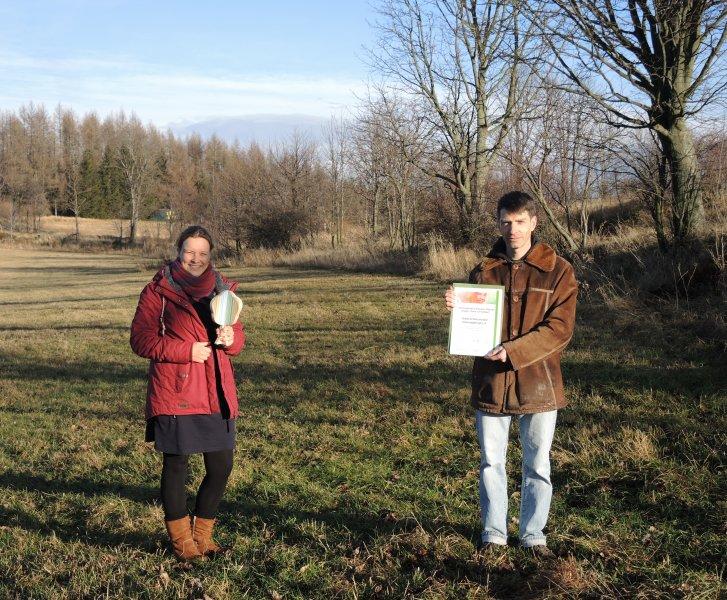 C.3-Projekt der Naturschutzstation erhält Auszeichnung der UN-Dekade Biologische Vielfalt