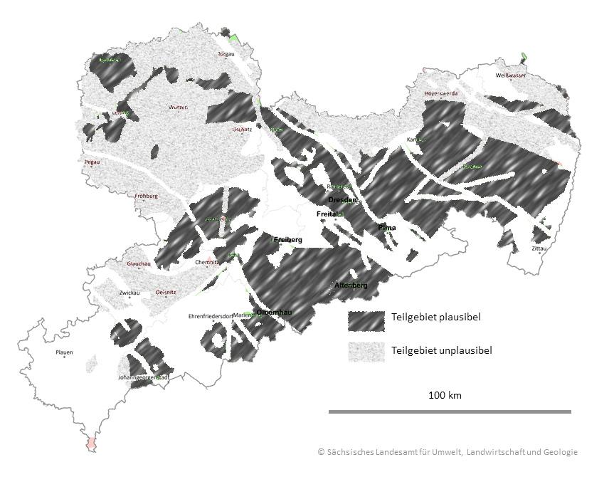 Ost-Erzgebirge plausibles Atommüllendlagergebiet
