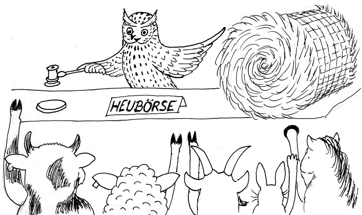 Online-Heubörse der Naturschutzstation Osterzgebirge e.V. geht an den Start