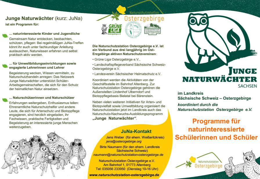 Junge Naturwächter: Sommercamps und Praxisbausteine