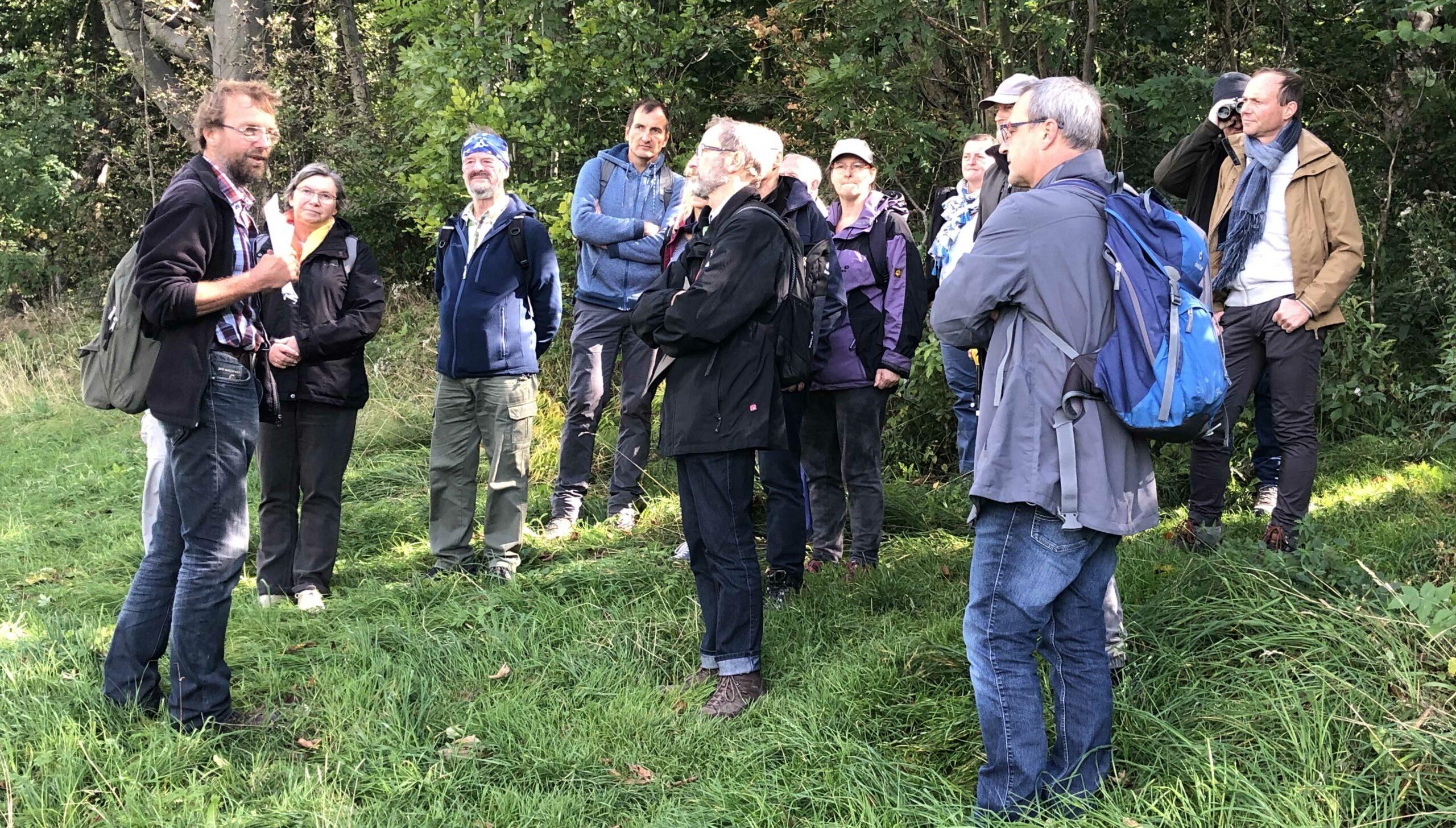 Geisingbergexkursion mit ausgezeichneten Naturschutz-Ehrenamtlern