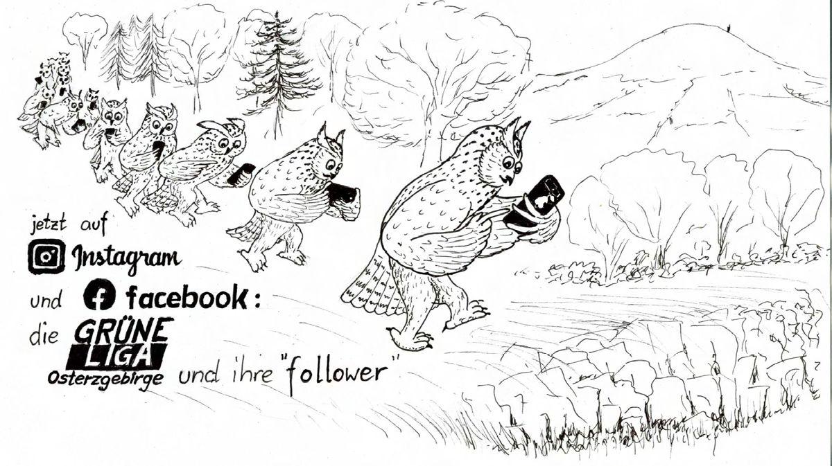 Muss heute jeder ham: Facebook und Instagram